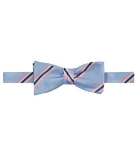 Executive Rib with Pink/Blue Satin Stripe Bow Tie JoS. A. Bank
