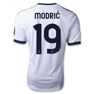adidas Real Madrid 12/13 MODRIC UCL Home Soccer Jersey