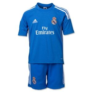 adidas Real Madrid 13/14 Away Mini Soccer Kit