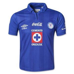 Umbro Cruz Azul 13/14 Youth Home Soccer Jersey