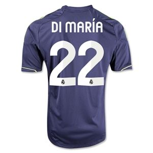 adidas Real Madrid 12/13 Angel di Maria Away Soccer Jersey
