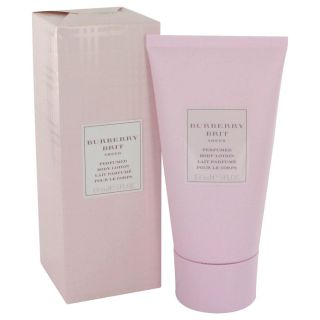 Burberry Brit Sheer for Women by Burberry Body Lotion 5 oz