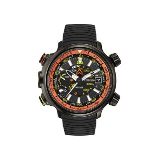 Citizen Eco Drive Promaster Altichron Mens 20ATM Chronograph Watch BN5035 02F