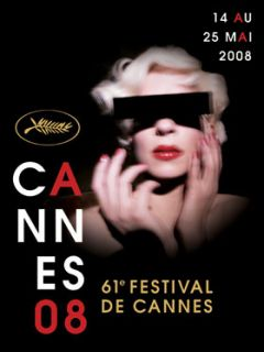 CANNES FILM FESTIVAL POSTER 2008 (FRENCH ROLLED MEDIUM)