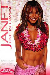Janet Jackson (Hbo   Live in Hawaii) Poster