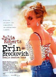 Erin Brockovich (French) Movie Poster