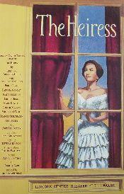 The Heiress (Original Broadway Theatre Window Card)