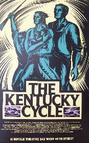 The Kentucky Cycle (Original Broadway Theatre Window Card)
