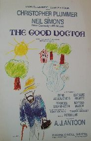 The Good Doctor (Original Broadway Theatre Window Card)