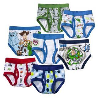 7 Pack Underwear , Little Boys Toy Story 4T
