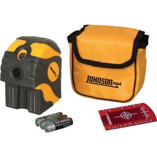 Johnson Level & Tool Self Leveling 2 Beam Dot Laser Level, Model 40 6670