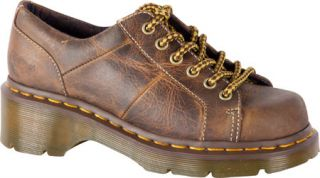 Womens Dr. Martens Keani Lace to Toe Shoe   Tan Greenland Oxfords