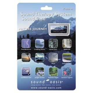 Sound Oasis Nature Journey Sound Card for Sound Machine for Sound Machine (S