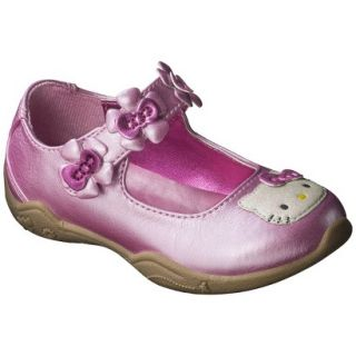 Toddler Girls Hello Kitty Mary Jane Shoe   Pink 10