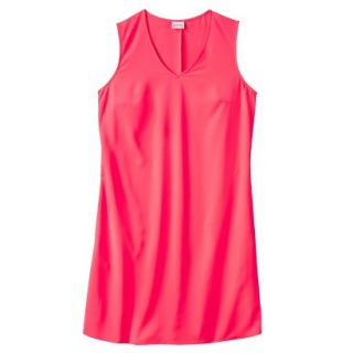 Merona Womens Woven Front Pocket Dress   Extra Pink   XL