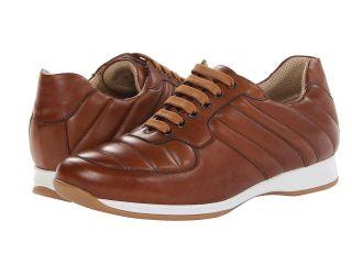 a. testoni Calf Sneaker Mens Shoes (Burgundy)