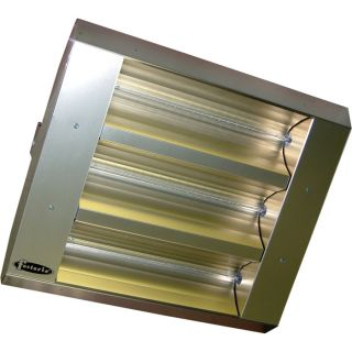 TPI Indoor/Outdoor Quartz Infrared Heater   25,298 BTU, Stainless Steel, Model