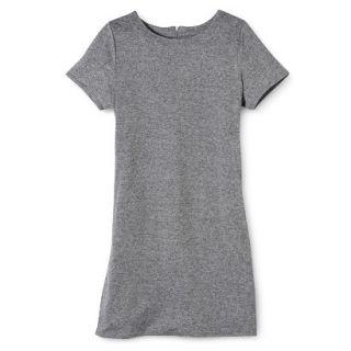 Merona Womens Knit T Shirt Dress   Heather Grey   S