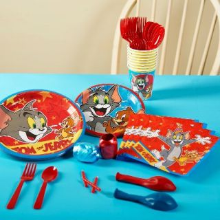Tom and Jerry Party Pack for 8   Multicolor
