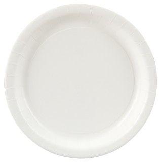 Bright White (White) Dinner Plates