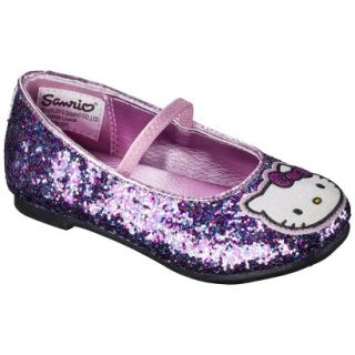 Toddler Girls Hello Kitty Ballet Flat   Multicolored 13