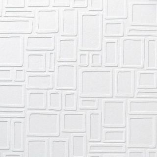Paintable Wallpaper  Squares