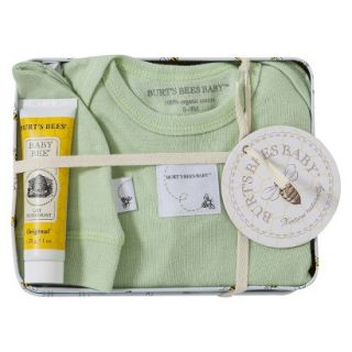 Burts Bees Baby Newborn Neutral Layette Set with Collectible Tin   Leaf