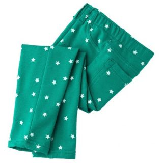 Circo Infant Toddler Girls Print Legging   Jade 12 M