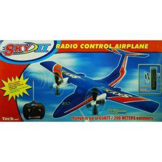 Sky II Radio Control Airplane   Blue