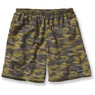 Patagonia Baggies Long Shorts  Mens,  WILLOW HERB Green/KASIH I,  S