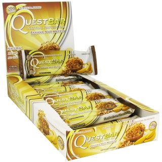 Quest Nutrition   Quest Bar Natural Protein Bar Banana Nut Muffin   2.12 oz.