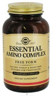 Solgar   Essential Amino Acid Complex Free Form   90 Vegetarian Capsules