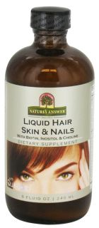 Natures Answer   Liquid Hair, Skin & Nail Enhancer   8 oz.