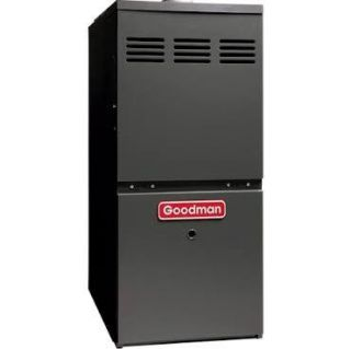 Goodman GMS81005CN 100,000 BTU 80 Efficiency, SingleStage Burner, MultiSpeed Blower, Upflow/Horizontal Application Gas Furnace