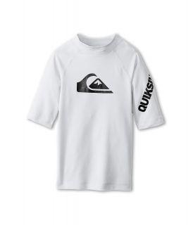 Quiksilver Kids All Time S/S Surf Shirt Boys Swimwear (White)