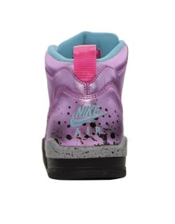 Pink  Nike Flight 13 Mid Pink Trainers