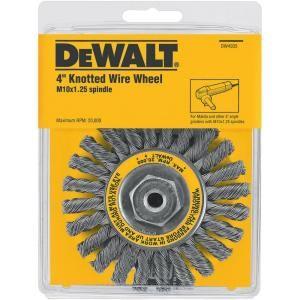DEWALT 4 in. Full Cable Twist Wire Wheel DW4935  Y
