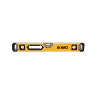 DEWALT 24 in. Magnetic Heavy Duty Box Beam Level DWHT43025
