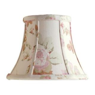 Laura Ashley Stowe 7 in. Floral Bell Clip Shade SLL25107