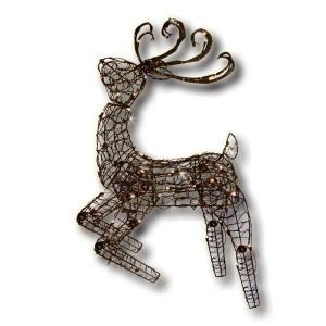 Brite Star 48 in. Multi Posing Brown Deer with 105 Lights 48 109 00