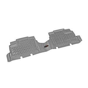Floor Liner Rear Pair Gray 2007 2013 Jeep Wrangler Unlimited JK 14950.01