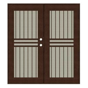 Unique Home Designs Ultimate 48 In X 80 In White Vinyl Sliding Patio Screen Door Ispv600048wht