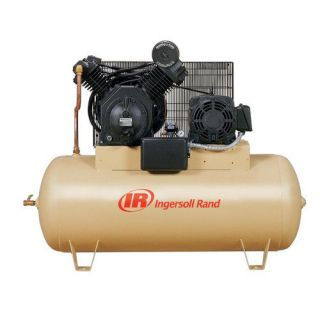 Ingersoll Rand 120 Gallon 10 HP Fully Packaged Type 30 Reciprocating Air Compressor Tools