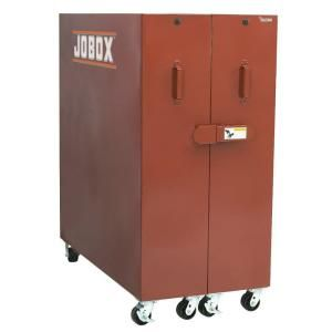 Jobox 30 in. Rolling Clam Shell Cabinet in Brown/Tan 692990