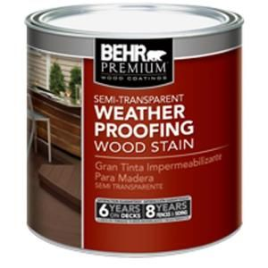 Behr premium 8 oz st112 barn red semi transparent for Behr barn and fence paint