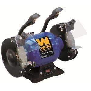 WEN 6 in. Bench Grinder with Lights DISCONTINUED 4256