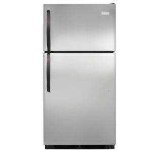 Frigidaire 14.8 cu. ft. Top Freezer Refrigerator in Stainless Steel FFHT1513PS