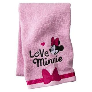 Disney Minnie Mouse OLL Hand Towel   Pink