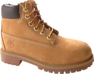 Childrens Timberland 6 Premium Waterproof Boot   Wheat Nubuck Boots