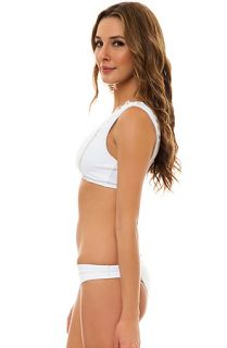 Miminale Animale Swimsuit Junk Love in Blanco White